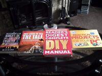 5 help books etc RRP: £87.99 DIY, Practical PC Projects etc