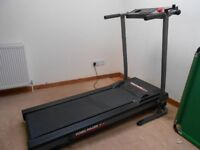 York Pacer 3100 foldable treadmill.
