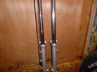 Virago 750 forks