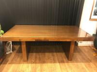 Beautiful Walnut Veneer Dining table - 6 seater