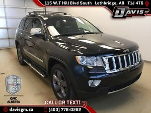 Used 2012 Jeep Grand Cherokee 4WD Limited-HEATED/COOLED LEATHER