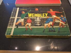 Wembley vintage 1960s board game