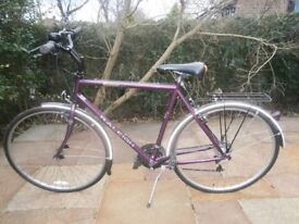Raleigh Pioneer classic mens bike, very good condition.