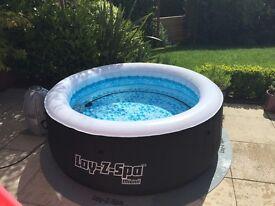 Bestway Lay-Z-Spa Miami Hot Tub - boxed