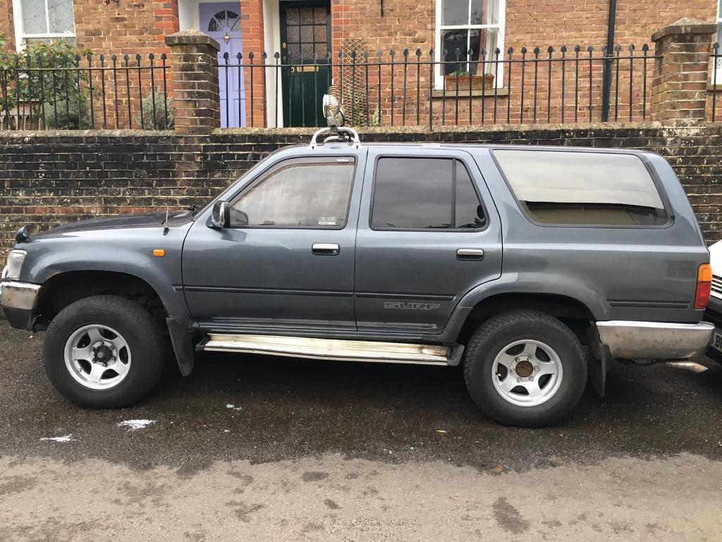 Toyota Hilux Surf 4x4 2 5l 1992 Automatic In Steyning