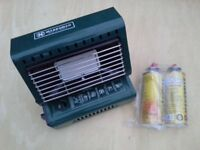 Marksman Portable Gas Heat. Mint Condition