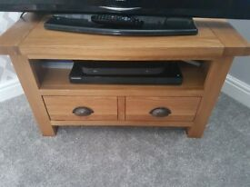 Oak sideboard and matching tv unit