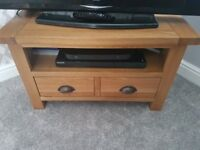 Oak sideboard and matching tv unit