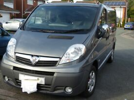 Vauxhall Vivaro 2L Sportive CDTI. No VAT, never used as a commercial vehicle. Cruise control.