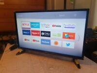 Brand new boxed LUXOR LUX0132009/02 32 inch smart hd led tv with wifi, alexa, freeview hd