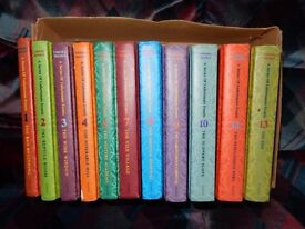 A Series of Unfortunate Events books (11 books) - COLLECTION ONLY.