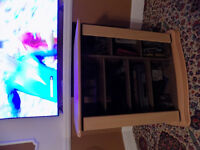 LIGHT OAK TV VIDEO CABINET