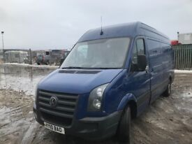 Volkswagen crafter 2010 year breaking spare parts available