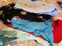 4 bags full of size 8-10 womens clothes