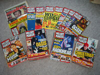 Melody Maker magazines, October 1999 until final issue