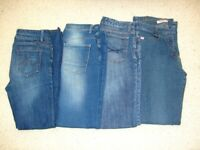 4 pairs ladies jeans - to suit UK size 10