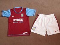 Kids Aston Villa Football Kit