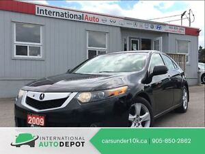 2009 Acura TSX PREMIUM PKG | LEATHER | PADDLE SHIFTERS
