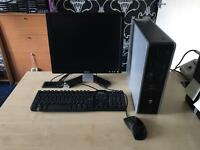 Hp dc 5850 Amd dual core 2.3 ghz 4gb ram 250gb hdd dell lcd windows 10 full system refurbished