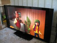 PIONEER PDP-507XD High End 50'' plasma TV with Speakers, TV Stand and Remote Control