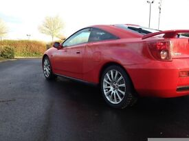 Toyota Celica VVTI 2003/53, long MOT, low mileage, owned for over two years. Genuine reason for sale
