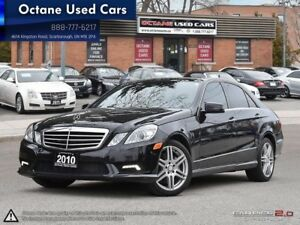 2010 Mercedes-Benz E-Class E-550/LEATHER/ROOF/NAV/FULLY LOADED