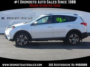 2015 Toyota RAV4 XLE, Navigation, Sunroof, Dual Zone Climate Con