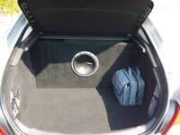 Vauxhall Insignia Custom Sub and Amp