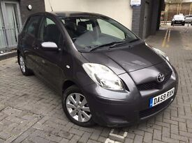 Toyota Yaris 1.33 TR Vvt-I Multimode 5dr, Automatic, FDSH, 2 Keys, HPI Clear, 2 Owners.