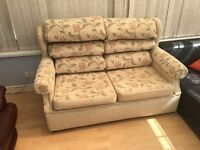 Double sofabed-great neutral colours