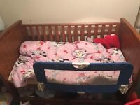 Slivercross cot bed