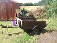 4 x3 box trailer need attention