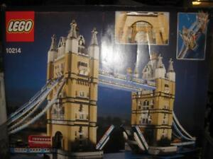 LEGO Creator Expert. London Tower Bridge. 4295 Pieces. Fun Game. Iconic Paired Towers. 4 Vehicles. Taxi. Yellow Truck