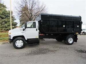 2006 GMC C7500 diesel new switch & go chipper box