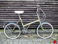 BSA/Raleigh Twenty vintage bike unisex beige