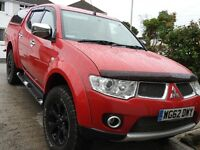 Mitsubishi Barbarian l200 factory fitted high spec, No VAT!!