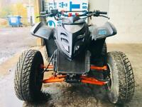 Road legal quad with Kawasaki gpz500 engine fitted not raptor blaster aeon ram