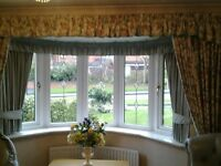 Sanderson country curtains and pelmet