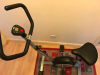 Lonsdale Exercise Bike ... almost new rarely used ..8 months old