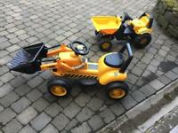 Children's ride on JCB digger / truck