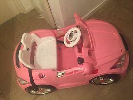 Remote control car pink