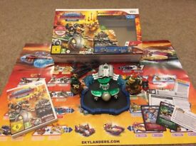 Skylanders Superchargers Racing Starter Pack for use with Nintendo Wii.