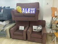 ❤️❤️ 2 SEATER PLUS 2 CHAIRS BEAUTIFUL SOFA SET. ❤️❤️