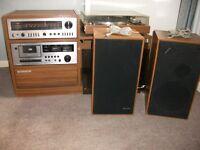 vintage teleton stereo hi-fi unit late 70s