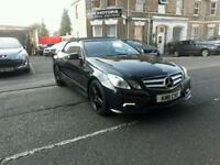 MERCEDES-BENZ E CLASS E250 CDI BlueEFFICIENCY Sport 2dr (black) 2011