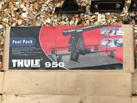 Thule roof bars with 950 foot pack