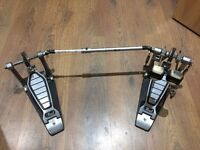 Pearl Double Kick Drum Bass Chain Drive Twin Pedal