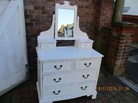 Solid pine chest of drawers/ dressing chest