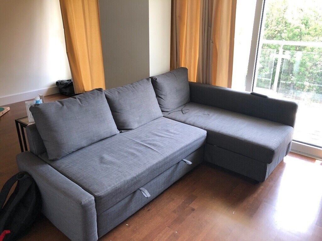Ikea L Shaped Sofa Bed For Sale Amazing Condition In Kingston