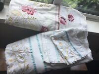 2 sets Super King Duvet covers and matching pillowcases